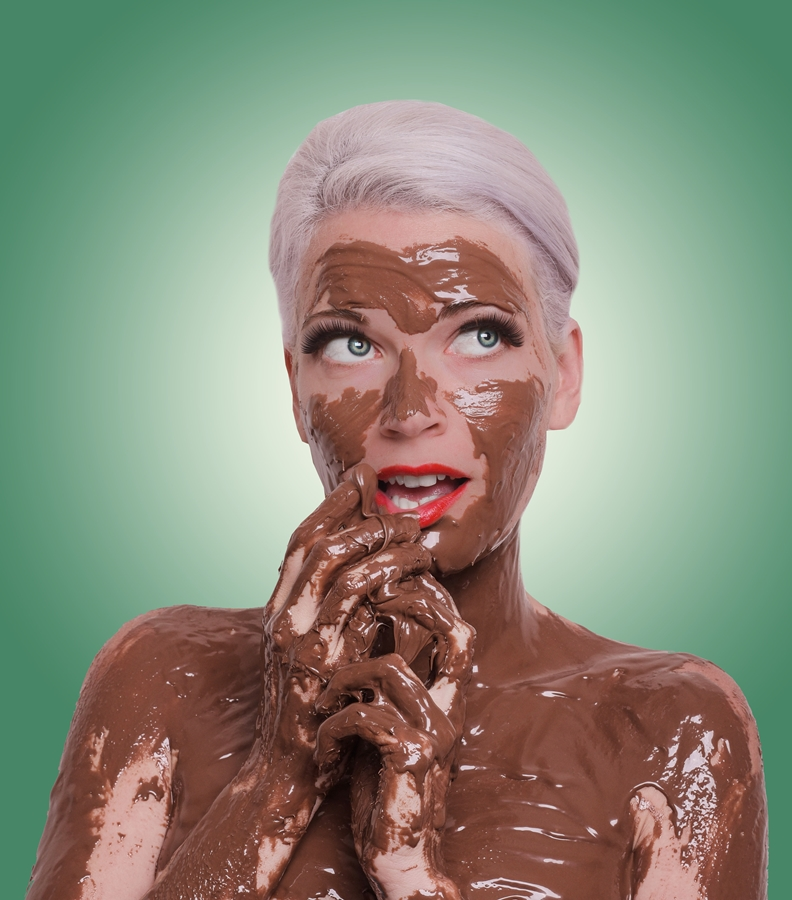 This Nutella shoot was one of Christy Strever's messiest.