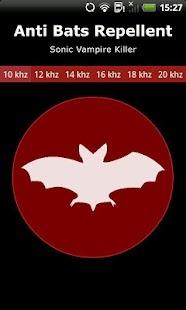 Kelelawar Repellent Simulasi- gambar mini tangkapan layar