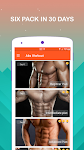 screenshot of Six Pack Abs in 30 Days - Abs Workout