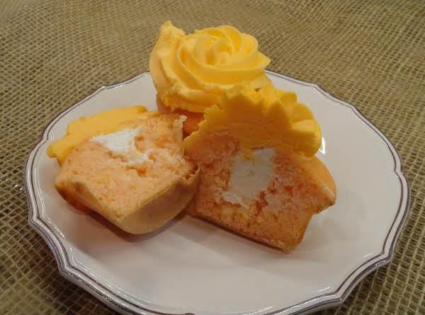 Orange Dreamsicle Cupcakes
