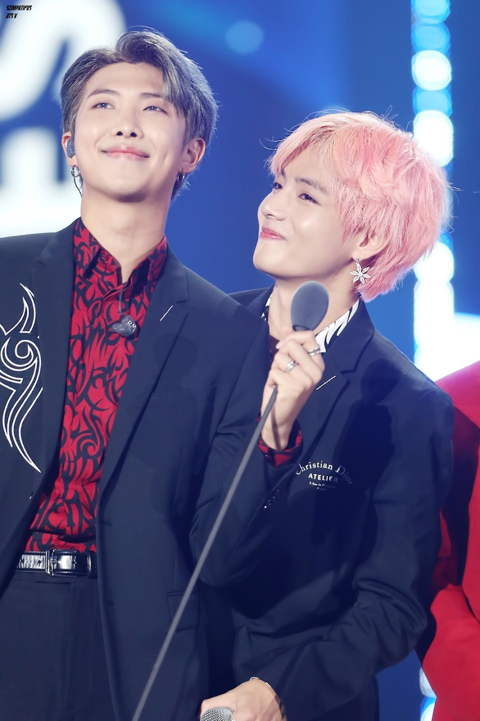 bts v and rm