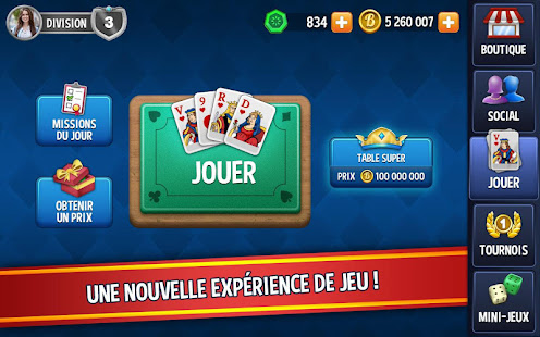 Star Games Belote Gratuit