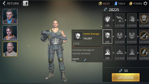 Zombie City : Dead Zombie Survival Shooting Games  screenshots 13