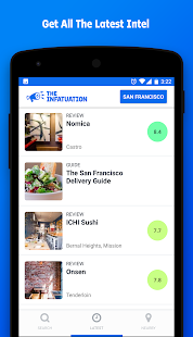 Infatuation: Restaurant Finder- screenshot thumbnail