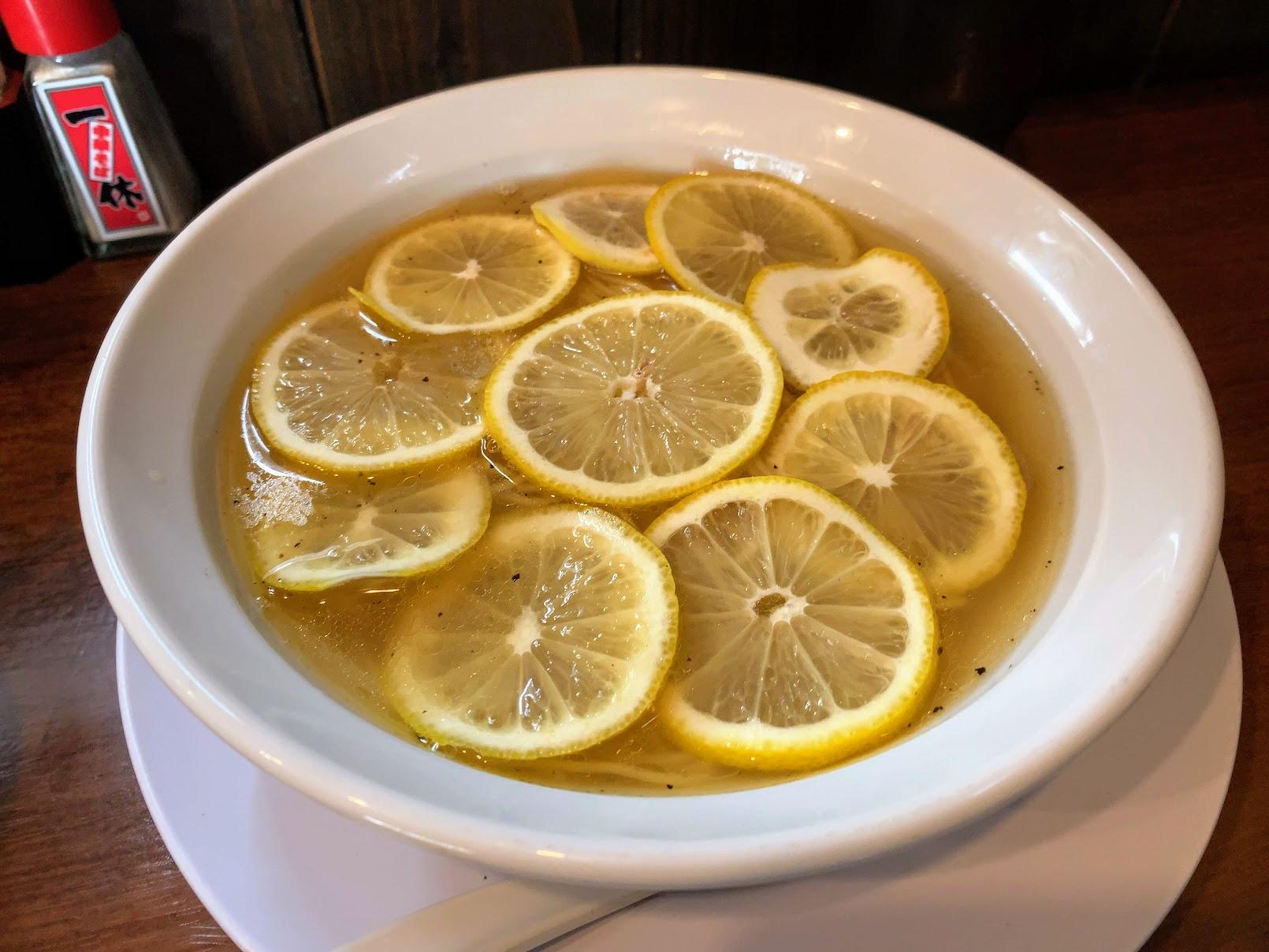 レモン塩中華そば