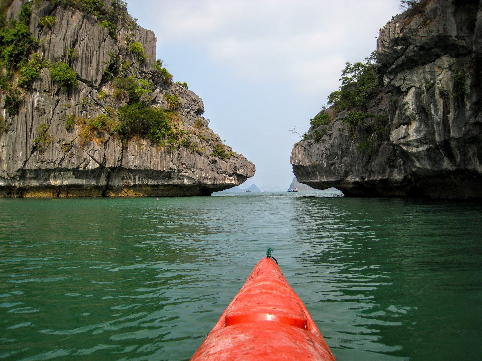 Kayaking in Halong Bay - Vietnam