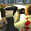 Modern Limousine Car Driving : Real Taxi Driver 3D icon