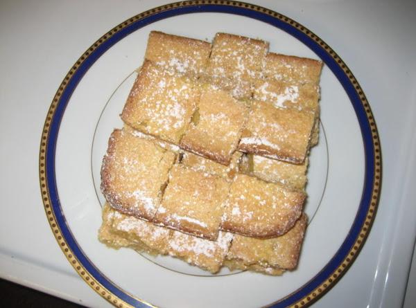 Aileen's Lemon Bars Recipe