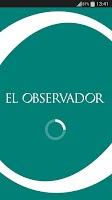 Screenshot of El Observador