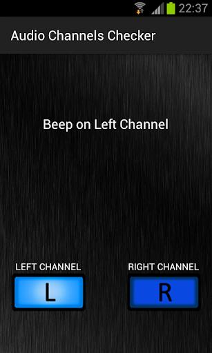 Audio Channels Checker