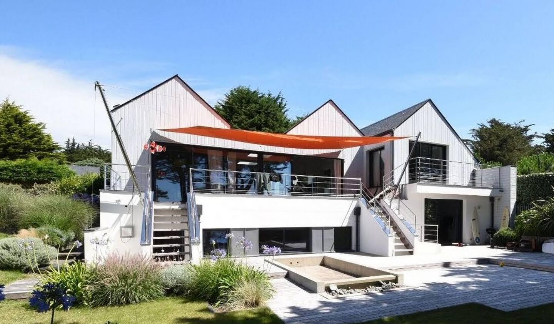 Maison en bord de mer avec jardin Saint-Gildas-de-Rhuys