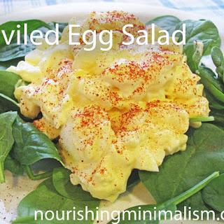Deviled Egg Salad.