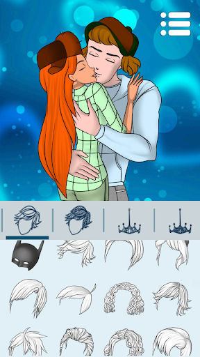Avatar Maker: Kissing Couple screenshot 12