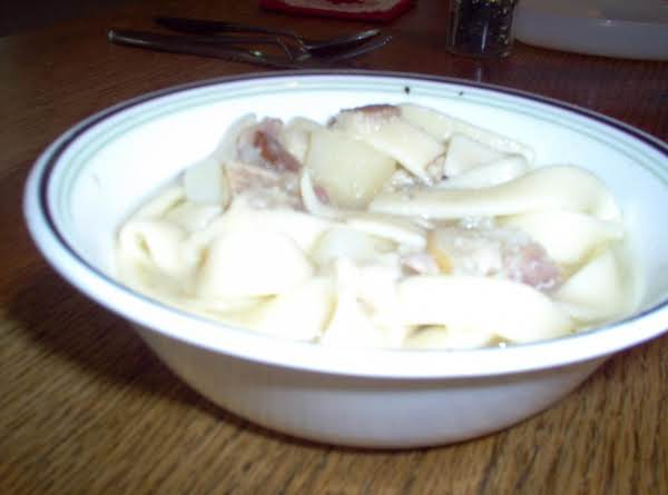 Grandma Olney's Soup Recipe