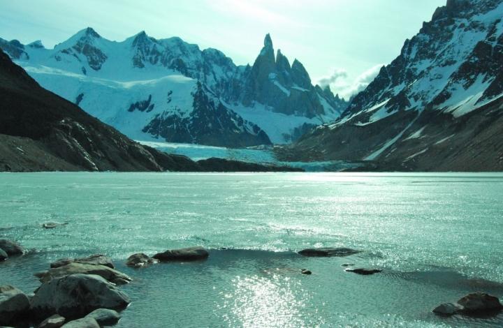Lago ghiacciato di silvvv
