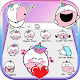 Cute Unicorn Blob Emoji Stickers Download on Windows