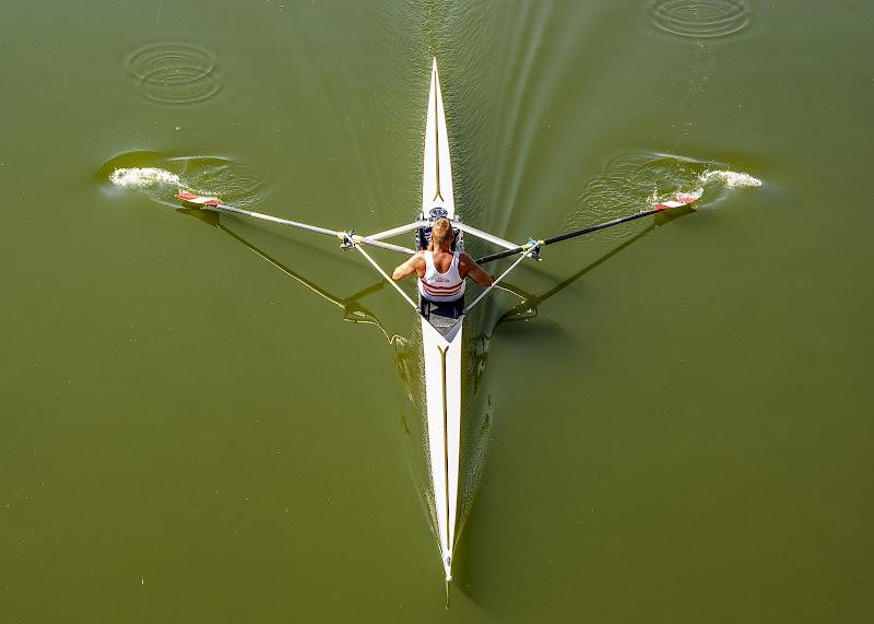 Vogatore sull'Arno di Adri-Mugna