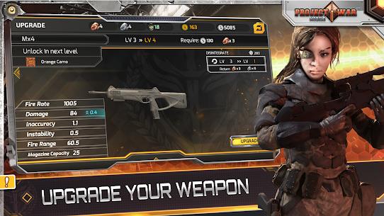 مشروع الحرب للجوال-لعبة إثارة وتصويب على الإنترنت 4