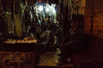 Photo: At a shoemaker, Koye 2015