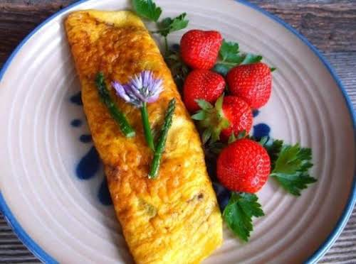 "Asparagus Omelette ""Had this great recipe for dinner tonight and it was..."