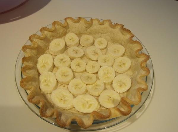 "Bake pre prepared pie crust in 9"" pie plate set aside to cool."