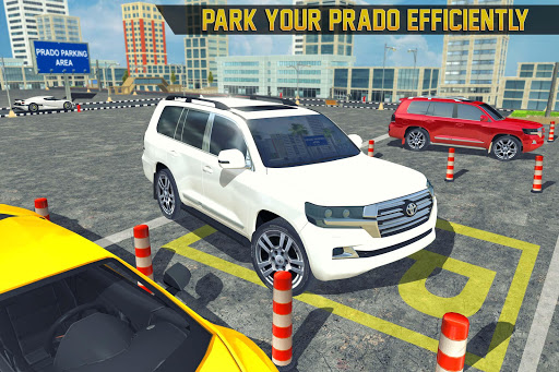 Prado luxury Car Parking Free Games screenshots 1