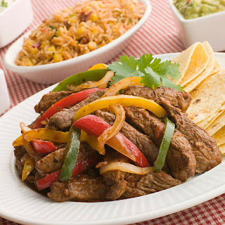 Sizzling Marinated Steak Fajitas