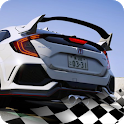 Hond Civic Type R Learn Car Driving Parking City icon