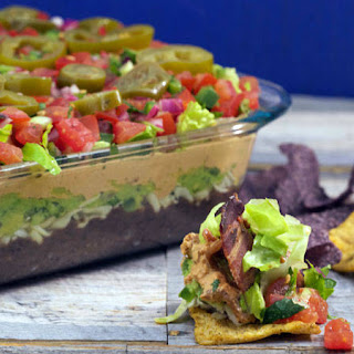 Seven-Layer Black Bean Dip