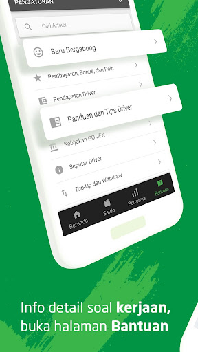 GO-JEK Driver  screenshots 5