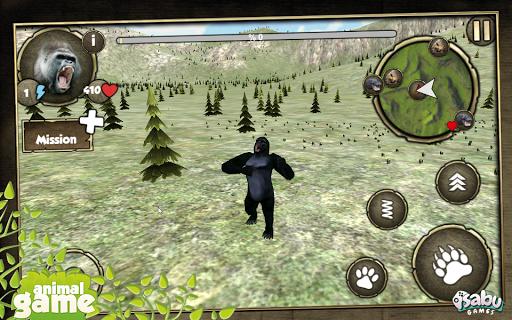 Wild Gorillas Simulation