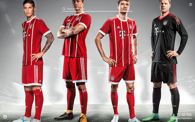 FC Bayern Munich HD Wallpapers New Tab Theme