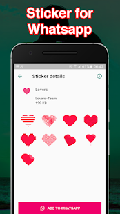 Love stickers For whatsApp - Love WAStickerApps Screenshot