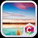 Blue Lake Theme C Launcher icon