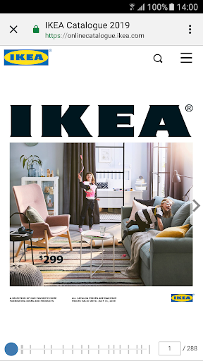 IKEA Catalogue screenshot