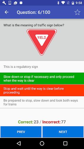 California DMV Practice Test 2018  screenshots 2