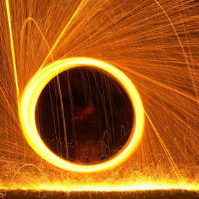 Steel Wool by Jeffri Yonardi - Abstract Fire & Fireworks