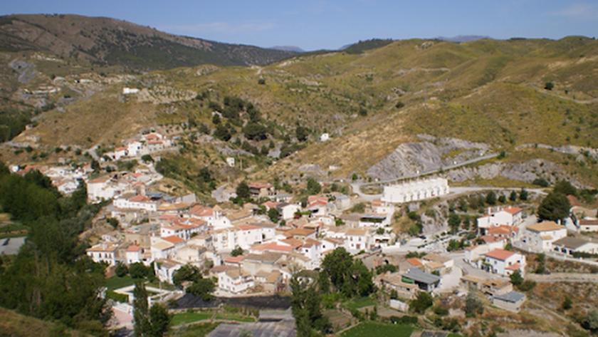 Imagen panorámica de Alcóntar.