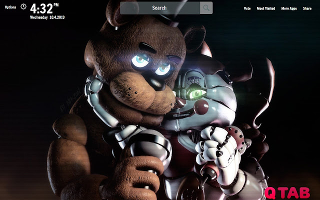 Five Nights at Freddys Wallpapers New Tab
