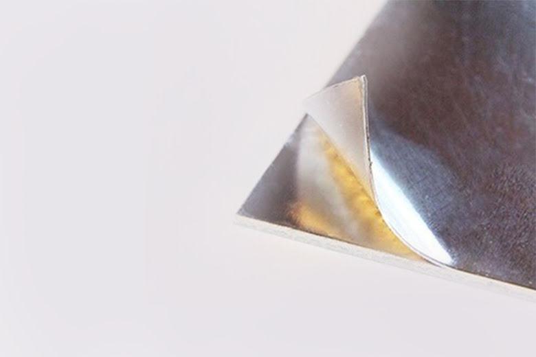 Laminerad aluminium