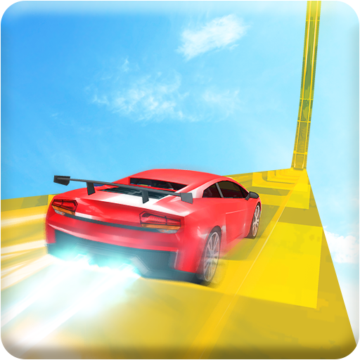 Grand Turbo GT Car: Mega Ramp Car Racing Tracks