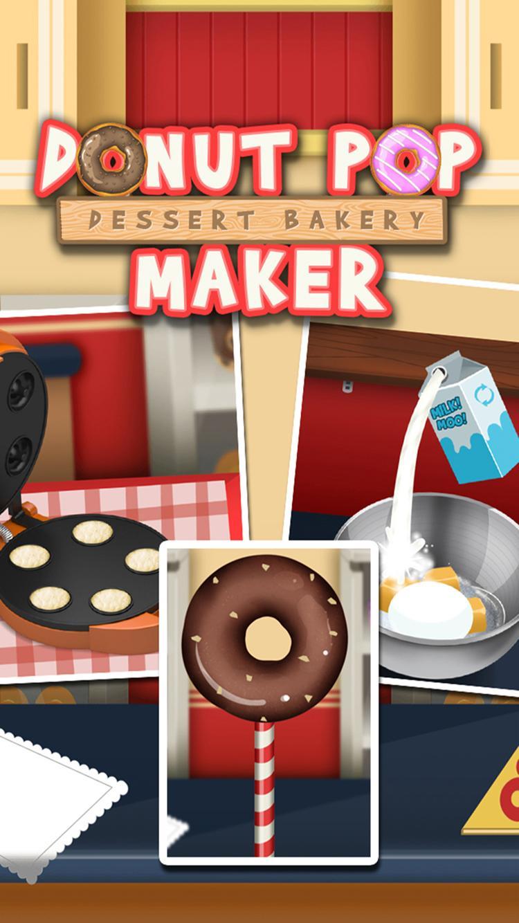 Скриншот Cake Pop Maker - Donut Dessert