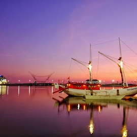 Losari's Boat by Adi Prakasa - Transportation Boats