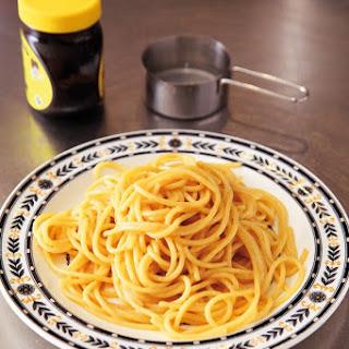 Spaghetti With Marmite.
