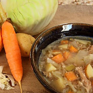 Sauerkraut Cabbage Soup.