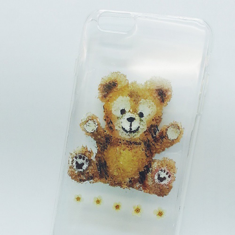 [訂製/custom-made] Duffy Pressed Flower Phone Case
