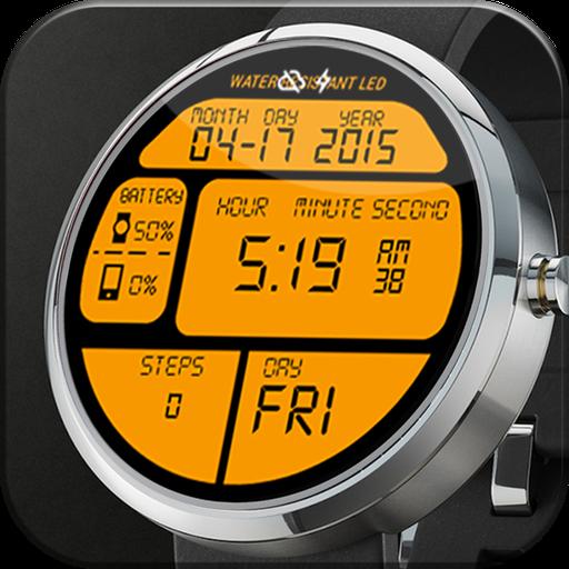 数字LED手表表面 個人化 App LOGO-APP試玩