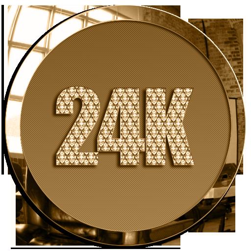 24K Round Icon Pack