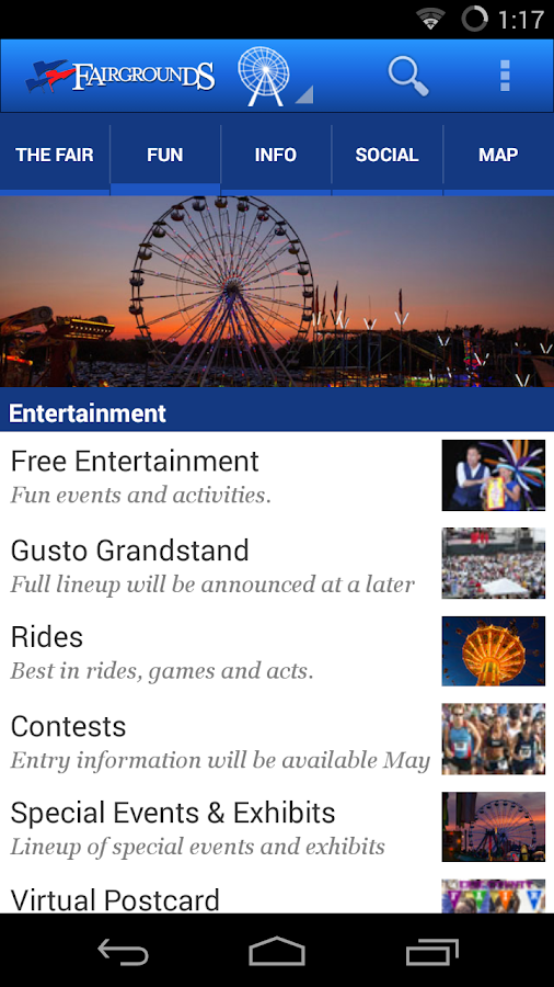 Erie County Fairgrounds- screenshot