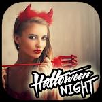 Halloween Night Selfie Icon